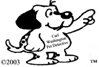 Carl Washington - Pet Detective